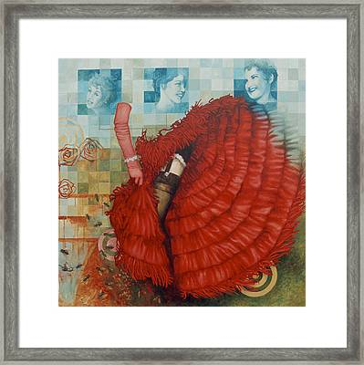 Jane Of The Waking Universe Framed Print by Sandra Cohen
