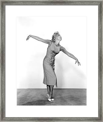 Jane Powell Framed Print by Underwood Archives