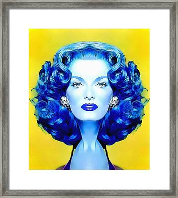 Jane Russell Alias In The Revolt Of Mamie Stover Framed Print