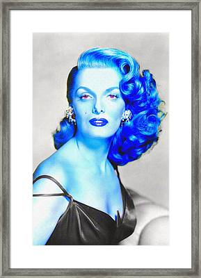 Jane Russell In The Revolt Of Mamie Stover Framed Print