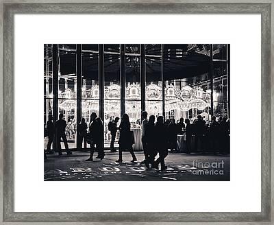 Jane's Carousel Framed Print by Rebekah Wilson