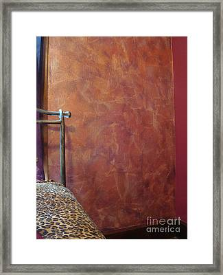 Janes Wall 2 Framed Print by M Bellavia