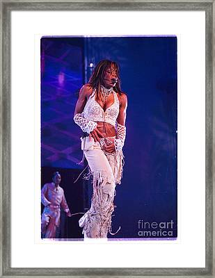 Janet Jackson-01 Framed Print by Timothy Bischoff