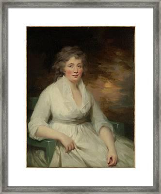 Janet Law Framed Print by Sir Henry Raeburn