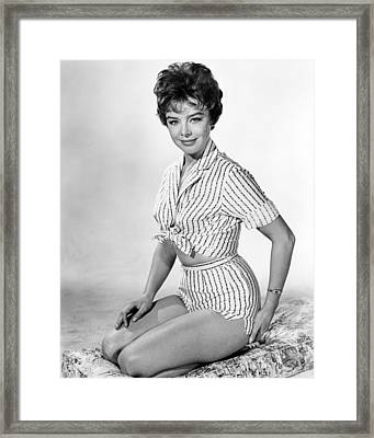 Janet Munro In The Day The Earth Caught Fire  Framed Print