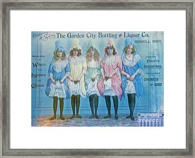 January 1896 Advertisement Framed Print