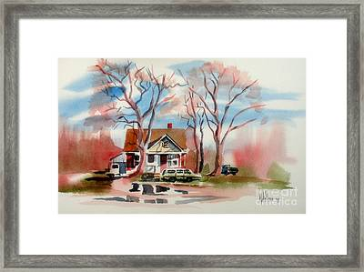 January Afternoon Framed Print by Kip DeVore