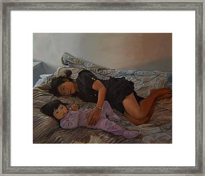 January Afternoon Mukilteo Washington Framed Print by Thu Nguyen