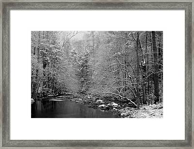 January Gift Framed Print by Michael Eingle