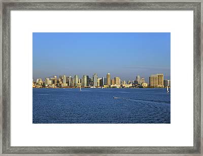 January In San Diego Framed Print