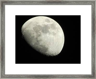January Moon 1 Framed Print
