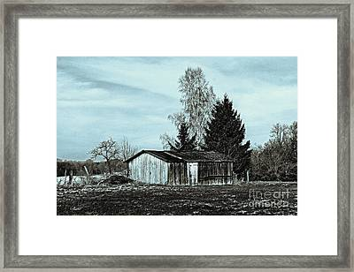 January Sadness Framed Print by Jutta Maria Pusl