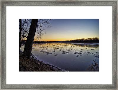 January Thaw Framed Print
