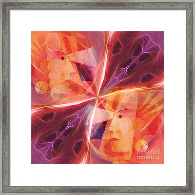 Janus Framed Print by Lutz Baar