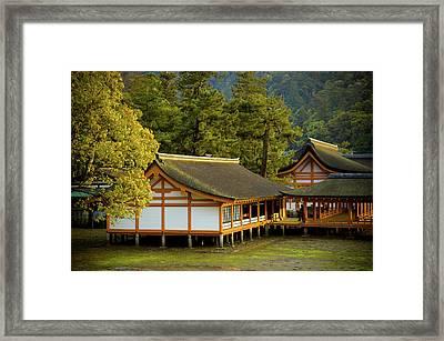 Japan Itsukushima Framed Print