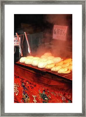 Japan, Kobe Japanese Potsticker Framed Print