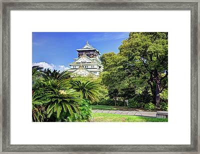 Japan, Osaka, Nara Prefecture Framed Print