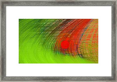 Japan Rises Framed Print by Constance Krejci