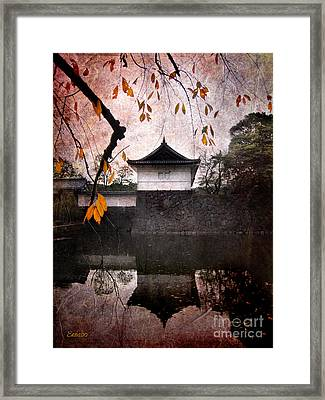 Japanese Autumn Framed Print