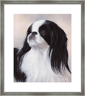 Japanese Chin Painting Framed Print