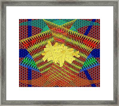 Japanese Crinkle Cut Fries Framed Print by Chas Hauxby