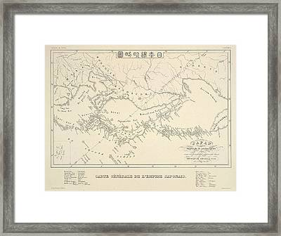 Japanese Empire Framed Print by British Library