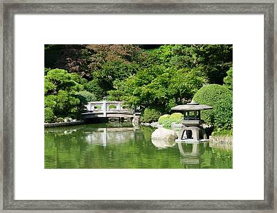 Framed Print featuring the photograph Japanese Friendship Garden by Cindy McDaniel