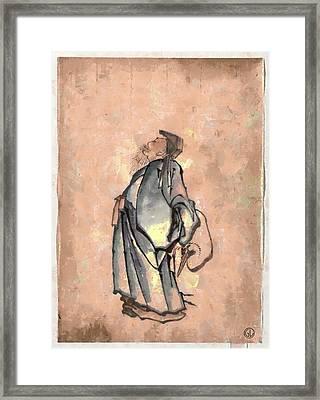 Japanese Framed Print by Gun Legler