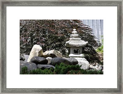 Japanese Lamp Framed Print