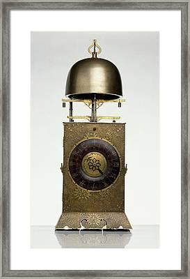 Japanese Lantern Clock Framed Print by Dorling Kindersley/uig