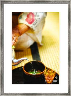 Japanese Tea Ceremony Framed Print