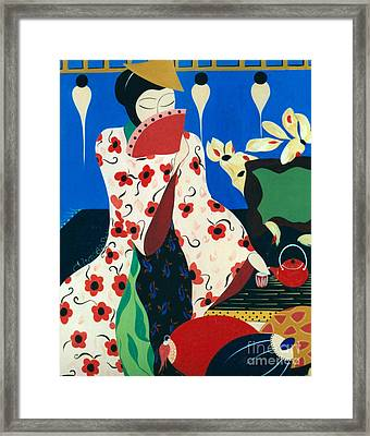 Japanese Tea Framed Print