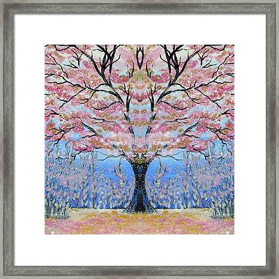 Japanese Tree Of Life Framed Print