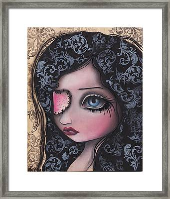 Jaqueline Framed Print by  Abril Andrade Griffith