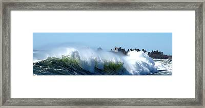 Jaquish Wave Framed Print