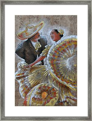 Jarabe Tapatio Dance Framed Print