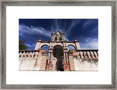 Jaral De Berrio Chapel, San Felipe Framed Print by Julien Mcroberts