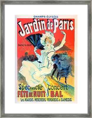 Jardin De Paris Framed Print by Charlie Ross