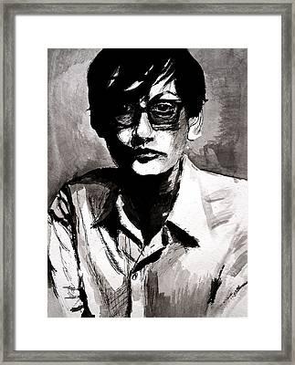 Jarvis Framed Print by Molly Picklesimer