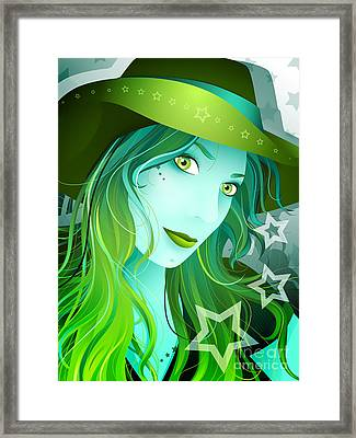 Jasmin Framed Print by Sandra Hoefer