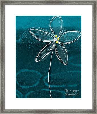Jasmine Flower Framed Print by Linda Woods