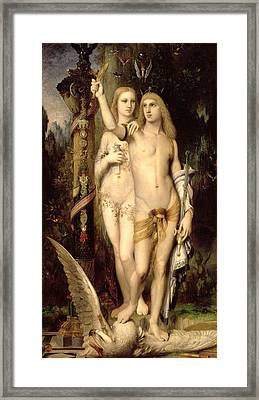 Jason And Medea Framed Print by Gustave Moreau