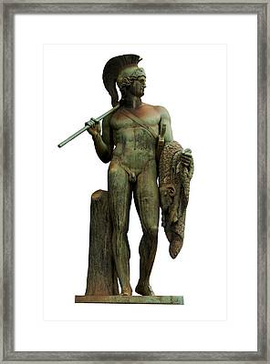 Jason And The Golden Fleece Framed Print by Fabrizio Troiani