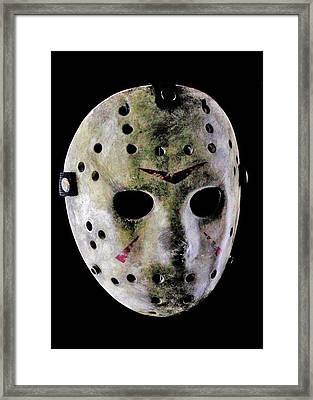 Jason Framed Print by Benjamin Yeager