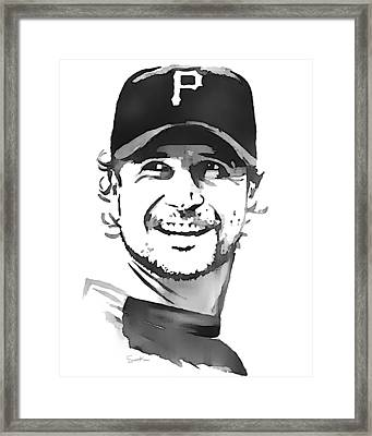 Jason Grilli Framed Print by Scott Karan