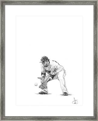 Jason Kipnis Framed Print
