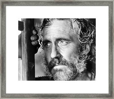 Jason Robards In C'era Una Volta Il West  Framed Print by Silver Screen
