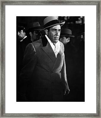 Jason Robards In The St. Valentine's Day Massacre  Framed Print by Silver Screen