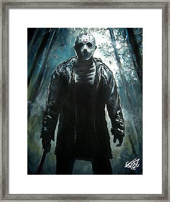 Jason Framed Print by Tom Carlton