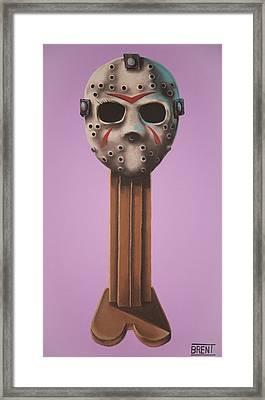 Jason Vorhees Framed Print